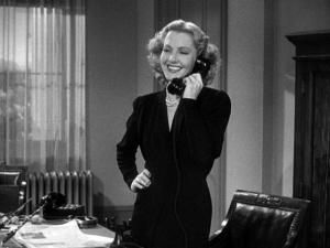 """While many actresses were seen for their great beauty, Jean Arthur was seen as a romantic lead as a """"everyday heroine"""" particularly in Frank Capra films. She's also known for her aversion from the public eye and taught Meryl Streep at Vassar."""