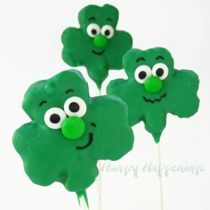 Of course, these seem quite happy for some reason. However, I'm not sure about putting faces on shamrocks yet I guarantee your kids will love them.