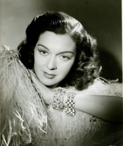 While Rosalind Russell played classy and glamorous roles, she never became a sex symbol in her long career playing professional women. In fact, some of her later roles like Mama Rose and Auntie Mame are especially iconic which earned her acclaim on Broadway and on the screen.