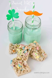 Of course, you can also have them with a side of green milk, too. Yet, you might not want to tell Lucky the Leprechaun about this though.