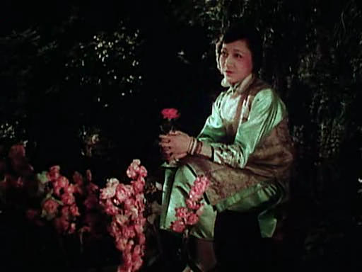 Anna May Wong was the first Chinese American movie star at a time when people thought Chinese people couldn't be Americans. Here is her in the 1922 film The Toll of the Sea which was one of the first color films and made her a star.