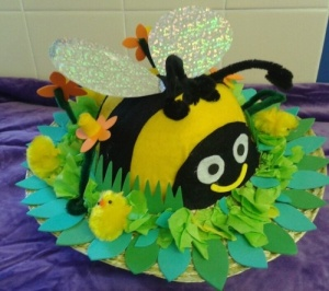 Now this bee may seem quite cute since it's plush. However, you wouldn't want to be stung by it mainly due to its size.