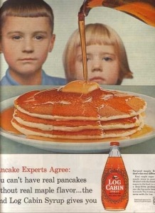 Seeing these kids dead soulless eyes makes you wonder if Log Cabin Maple Syrup is just the carmelized blood of their enemies.