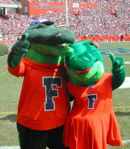 By the look at these, they seem like a couple of wimps who should've devoured Tim Tebow when they had the chance. Seriously, they may appear lame but they're freaking gators for God's sake.