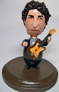 Yes, this is an Easter egg rendition of legendary American singer-songwriter Bob Dylan. Well, he wrote some of the best music ever which has influenced millions. But his singing is much to be desired.