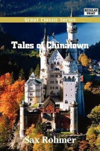 This is mad King Ludwig II's fairytale Neuschwanstein Castle in Southwest Bavaria, Germany. There is absolutely nothing Chinese about this very European structure. So putting a cover on a book about Chinatown absolutely makes no sense whatsoever.