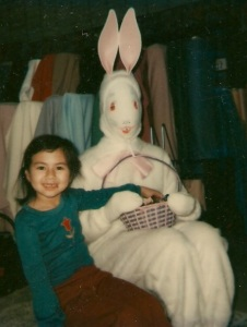 Seems like she was a bit desperate. Of course, this is how an Easter Bunny like that would try to ensnare its prey. Yeah, that girl may never be seen again anytime soon.