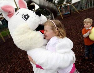 Tragically, Little Jessica was never seen again after this. Her parents are still looking for her and have started working to keep Easter Bunnies out of playgrounds.