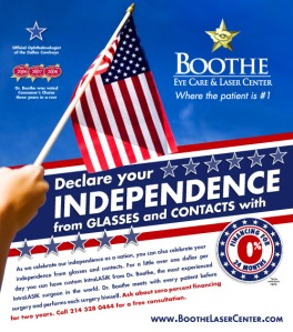 Sure using an American flag for advertising violates the US flag code. But name a company that doesn't do this around the 4th of July. Seriously, every car dealership and beer distributor does this all the time.