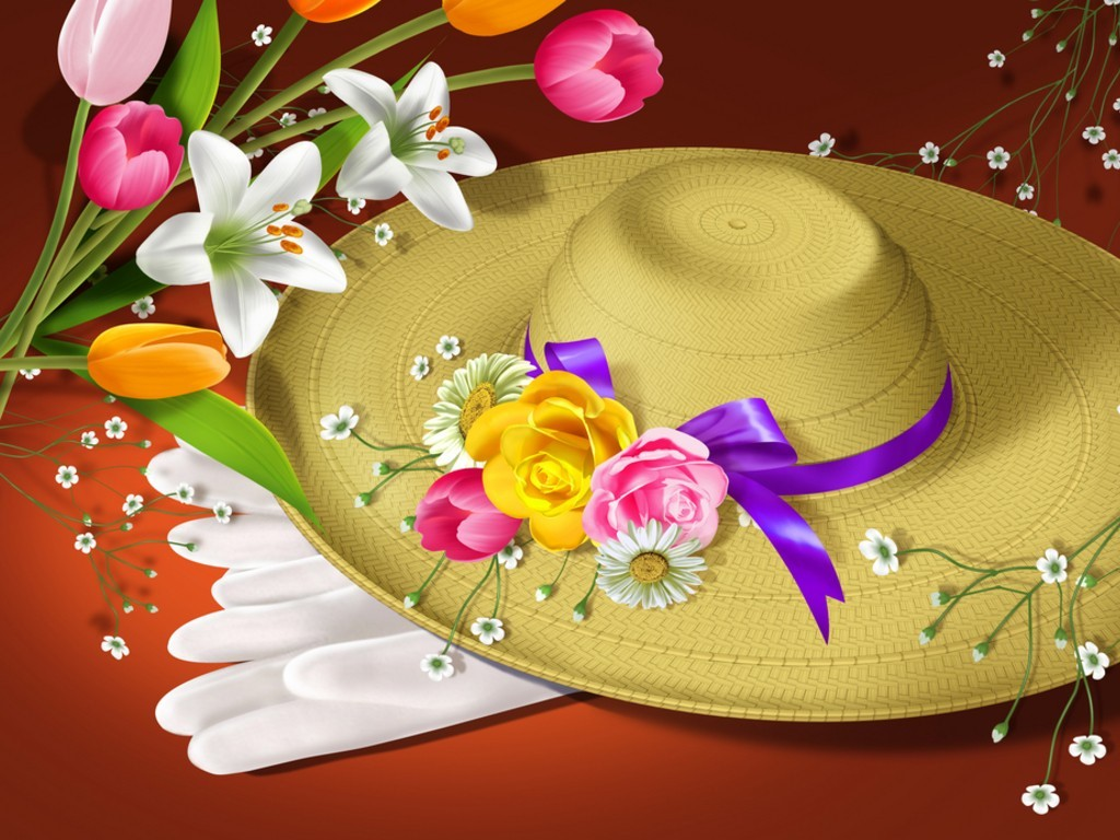 Fun with Easter Bonnets  e3b71f03151