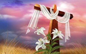 Easter-Cross-And-Lilies-Wallpaper
