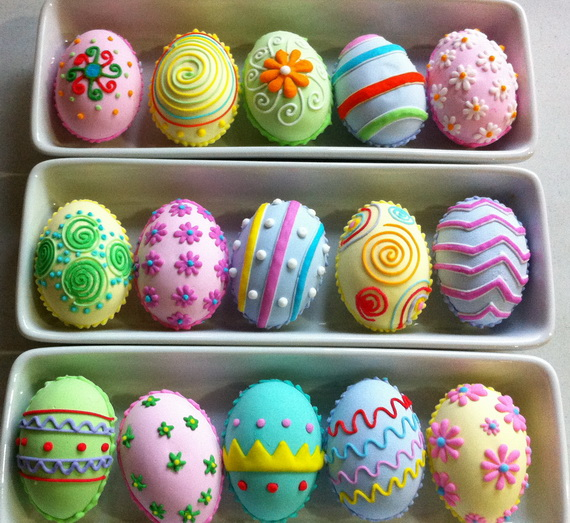 Easter Eggs Decoration Kit By Cocoapod: The Lone Girl In A Crowd