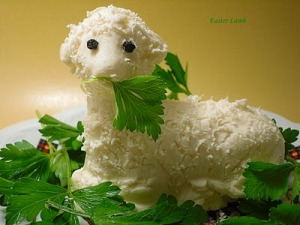 While the US and Germany have chocolate bunnies, those in Russia have the the Easter lamb made from butter since it's believe Satan can't transform as one. But eating a butter lamb can leave to high cholesterol and cardiovascular disease.