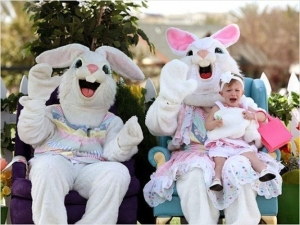 Okay, I'm sorry. I was wrong. They're actually quite terrifying. And I'm sure that there's no escape for screaming baby Julie on the lady bunny's laugh.
