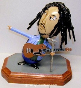 Rarely do we have the traditions of pot and Easter merged in the same creation as an Easter egg version of Bob Marley.
