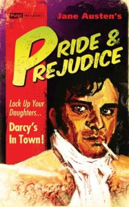 Yeah, Mr. Darcy sure is dangerous all right (sarcasm). Still, Darcy's actually all right once you get to know him. Nevertheless, it's kind of funny he looks like Colin Firth in this. Yet, the real bad boy in this is actually George Wickam.