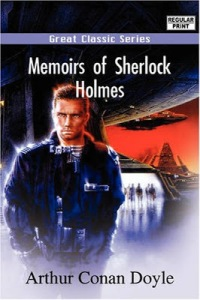 Seriously, androids didn't exist in the late 19th century. And this guy doesn't even seem dressed as a Victorian. So why he's on the cover of a Sherlock Holmes book just beats me.