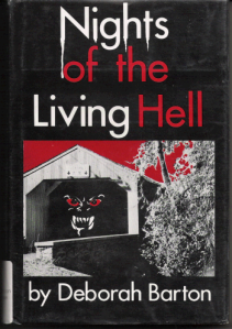 Now that kind of looks like the covered bridge near where I live. And I don't remember it having fangs and red eyes, which are obviously drawn for the cover.