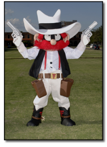 Or as I call him, Yosemite Sam's estranged and less successful brother who has the exact same rage issues. But at least he likes wearing white and whipping out his pistols. But he's unhappy that he doesn't get to shoot anyone in the audience.