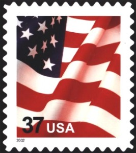 Even the US government isn't above disrespecting the American flag in which it issues postage stamps in its likeness. However, as Americans, we tend to allow this.