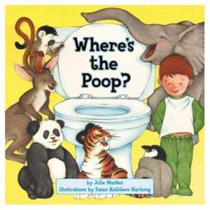 Then again, children do poop so there's no excuse not to write a children's book about it. Of course, we all know that the animals see no need of indoor plumbing and flush toilets.