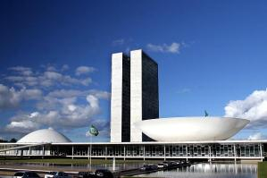 Actually this is the national headquarters for Brazil's National Congress in Brasilia. Sure I'm sure Brasilia is a capital city where the extra terrestrials will feel at home.