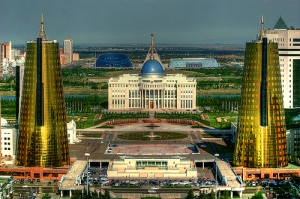 Okay, I'm sorry, Kazakhstan, I didn't mean to insult your presidential palace and ministry buildings. However, the golden towers resemble beer cans and the Orda palace seems like it's the headquarters of some New World Order.