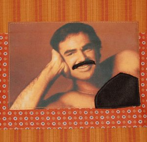 I'm sure your mom wouldn't want to use the 1970s Burt Reynolds centerfold when she hosts her next tea party. Seriously, this is a Mother's Day gift in poor taste.