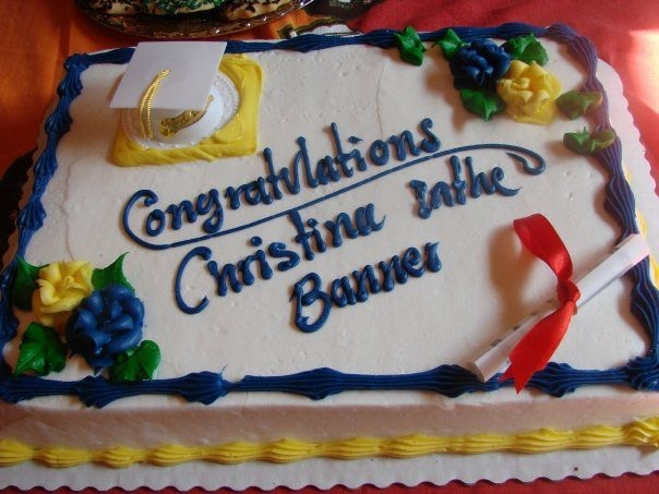 Congratulations On Your Graduation Cake The Lone Girl