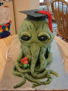 Yeah, I'm sure little children won't get the reference on this cake. Still, not sure if it's appropriate for graduation.