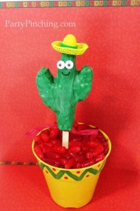 It may not be as much help to you in the desert. But it's so cute by any means. Also, I love its little sombrero hat.