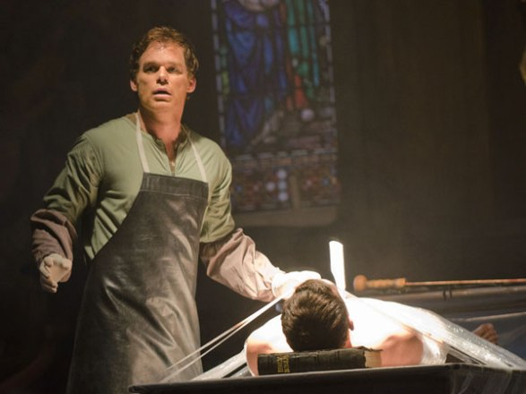 Dexter Morgan: I'm not sure if modern psychology would classify as a psychopath or just a homicidal maniac with PTSD. Still, since it's TV, he's a psychopath.