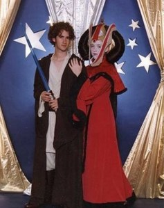 Of course, for those who've seen all the prequels, we know that their relationship doesn't end well. Yeah, I can understand why Jedi are forbidden to marry.