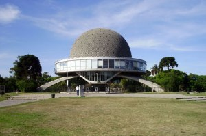 This is the Planetario Galileo Galilei in Buenos Aires, Argentina. I guess this was made more for function by the looks of it.