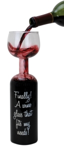 Now this is the perfect Mother's Day gift for alcoholics. However, just because your mother is a bit too much into wine doesn't mean you should give her one of these. Seriously, it might make you a codependent in some cases.