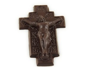 For the Catholic mom on Mother's Day, would I recommend this chocolate crucifix? No way in Hell. However, as a Catholic, I wouldn't really say no to chocolate, no matter the kind of sacrilegious shape it may take.