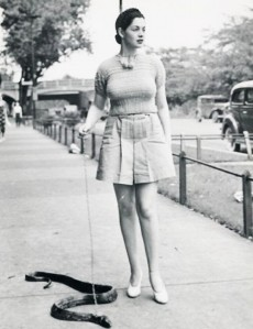 Yes, why not take your snake for a walk? now they could slither and frighten the living crap out of everyone in the neighborhood. And this is one of the early stupid pet products.