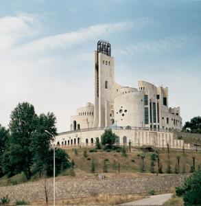 This is the Palace of Ceremonies in Tbilisi, Georgia. It's privately owned now. But there's just something phallic about it. I can't put my finger on it.