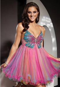 From what I can tell, this could very well be used for prom or very overpriced sleepwear. Seriously, I'm sure my dad wouldn't want me to wear that to prom. Still, I don't think I'd want to buy it.