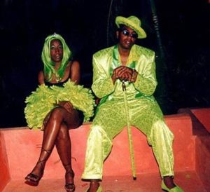 For one, lime green isn't a great color for prom. Seriously, it's a hideous color. Second, I'm sure a lime green pimp outfit doesn't make a guy look any badass. In fact, it just makes you look ridiculous.