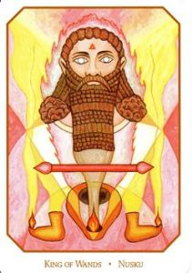 A god of fire Nusku is seen as a mediator between the gods and humanity as well as protector of the family. He also figured in a lot of rituals but not so much in myths.