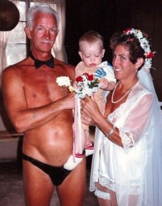 Let's just say while beach weddings may seem romantic, getting married in your speedo isn't. This is especially true for anyone over the age of 50.