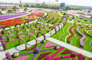 Again, this is the Miracle Garden in Dubai known for it's bizarre landscaping and very high water bills. Seriously, it seems like the kind of garden you'd see at a Dr. Seuss theme park, on steroids. Hey, at least I'm not showing the city's architecture.