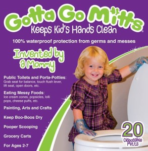 Now I know this is for little kids. But still, wouldn't it be better to teach them to clean their messes. Also, there are already products that keep kiddie hands clean. It's called soap. You may have heard of it.