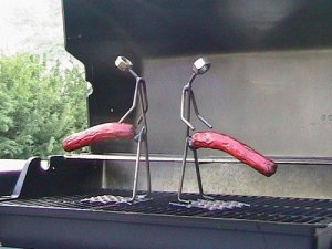 For the dad who loves to grill and possesses no sense of taste. Seriously, I'm not sure if my dad would want to be caught dead roasting hotdogs from these.