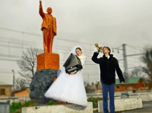 As to what connection Vladimir Lenin is to Russian weddings, accordions, and trumpets is beyond me. Seriously, Lenin was a Bolshevik revolutionary who turned Imperial Russia into the USSR while weddings are basically a whole capitalist industry targeted to the bourgeoisie.