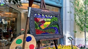 """This is from the Bellagio Botanical Gardens in Las Vegas. Or as I called it, """"the only place in Vegas that's worth visiting."""" Seriously, that's a work of art there."""