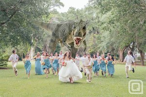 So remember, kids, dinosaurs may be awesome in their own right and it's perfectly fine to like them. But please, when you get married, don't book your wedding at Jurassic Park for you don't want to spend your wedding night in a stomach of a Tyrannosaurus Rex.