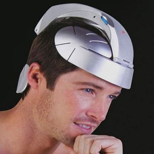 Unless your dad likes head massages and looking somewhat of a human cyborg, you should probably not get him this. Seriously, this partial Robocop helmet would make him look utterly ridiculous.