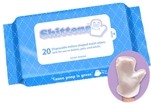 Want your dad to be as sanitary as possible? Then these Shittens will bring the joy of hand cleaning his ass without all the crappy contamination.  Great for changing diapers.